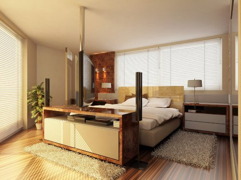 modern master bedroom interior design