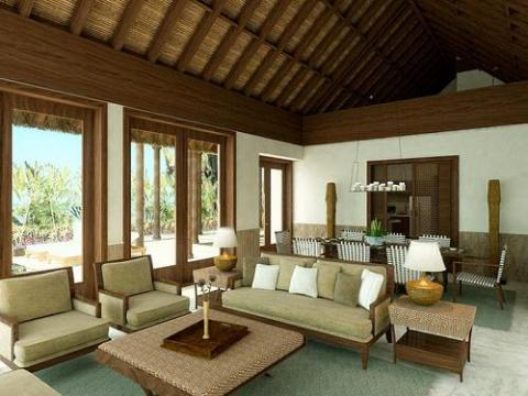 modern tropical interior design - Tropical Interior Design Living Room