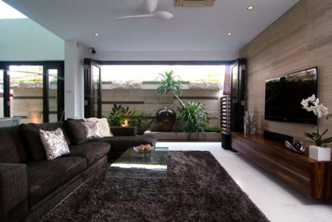 modern tropical interior design