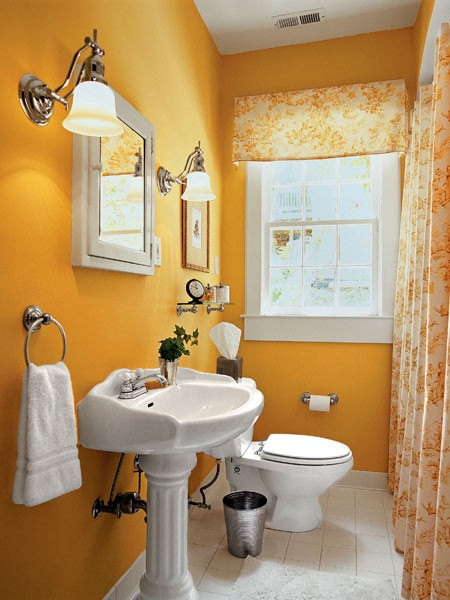 Orange Bathroom Decorating Ideas Advertisement