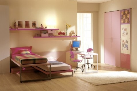 pink and brown bedroom decorating ideas