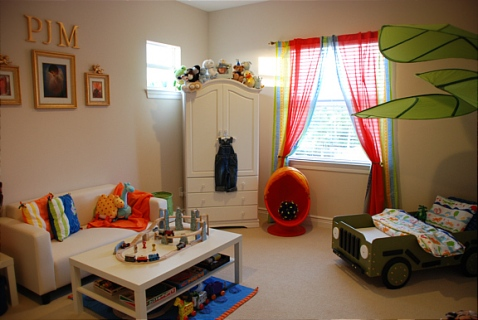 Toddler boy 39 s bedroom decorating ideas interior design for Room decor ideas for toddlers