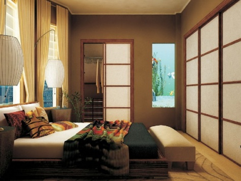 Tropical bedroom decorating ideas interior design for Tropical bedroom design
