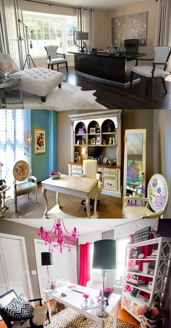 Amazing home offices for women interior design Amazing home office designs