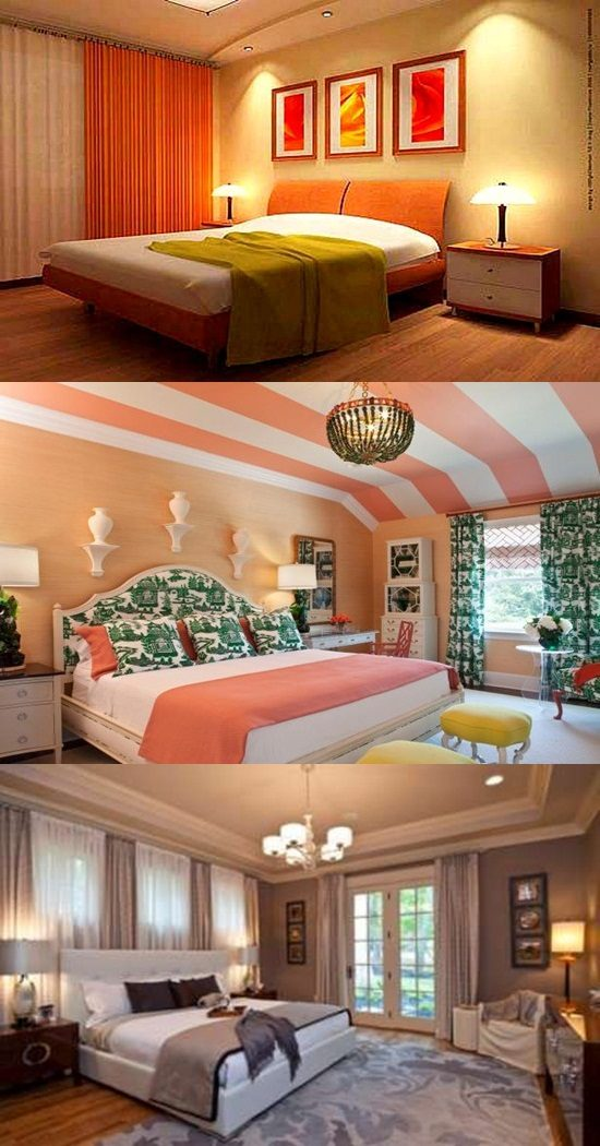 Mood colors for bedrooms