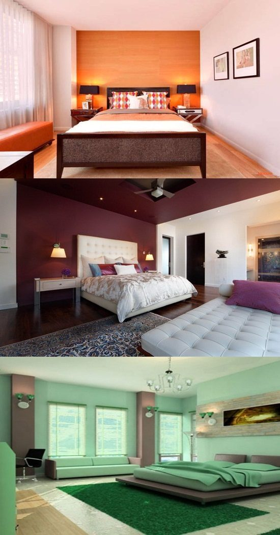 165 Bedroom colors and moods – main color