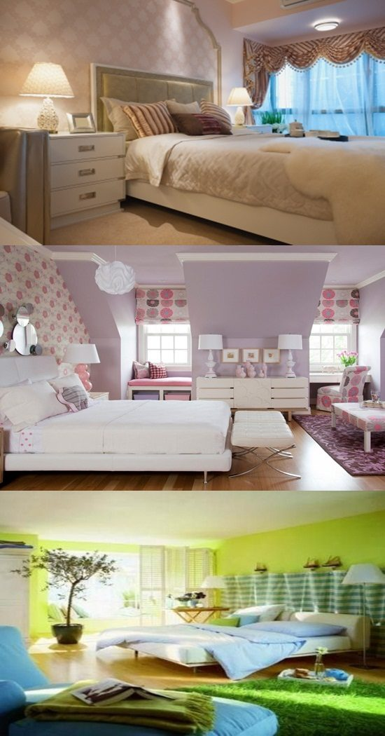Bedroom interior painting ideas cool muted colors interior design for Cost of painting inside 4 bedroom house