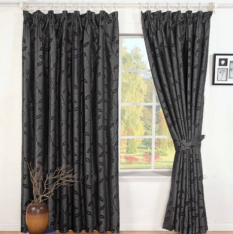 people who are going to buy black and white curtains are always