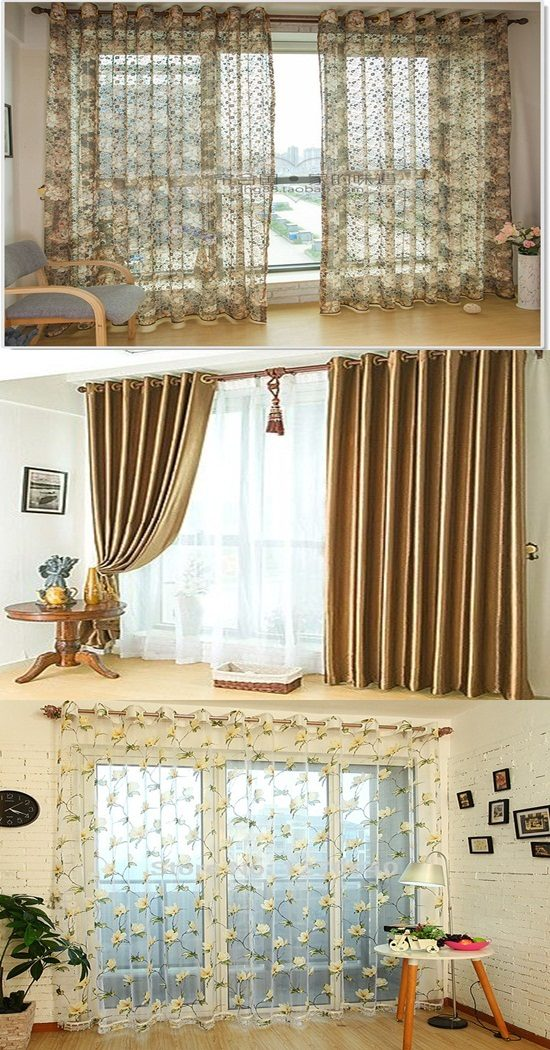 Kitchen Bay Window Ideas Hang Curtains