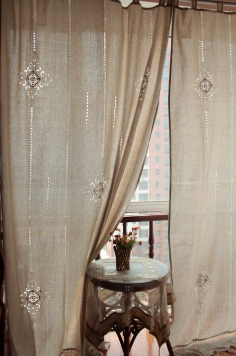 Cafe curtains for bedroom - Cafe curtain panels