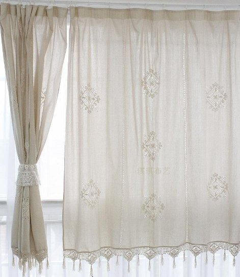 Cafe curtains for bedroom – Cafe curtain panels - Interior design