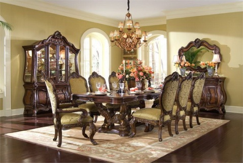 Classic Dining Room Designs from Aico Furniture