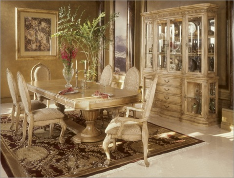 Classic dining room designs from aico furniture interior for Classic dining room furniture
