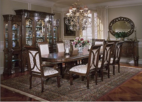 Classic Dining Room Designs from Aico Furniture - Interior design