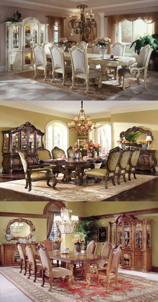 classic dining room designs from aico furniture interior