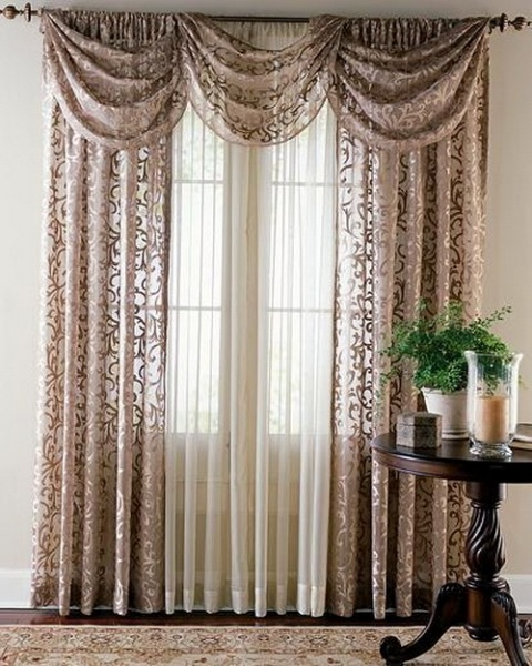 Curtains Design Ideas gold and ivory curtains design ideas Curtain Design Ideas