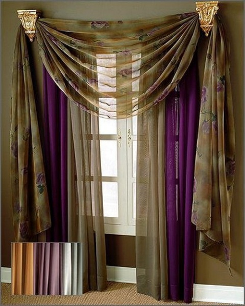 curtain design ideas interior design. Black Bedroom Furniture Sets. Home Design Ideas