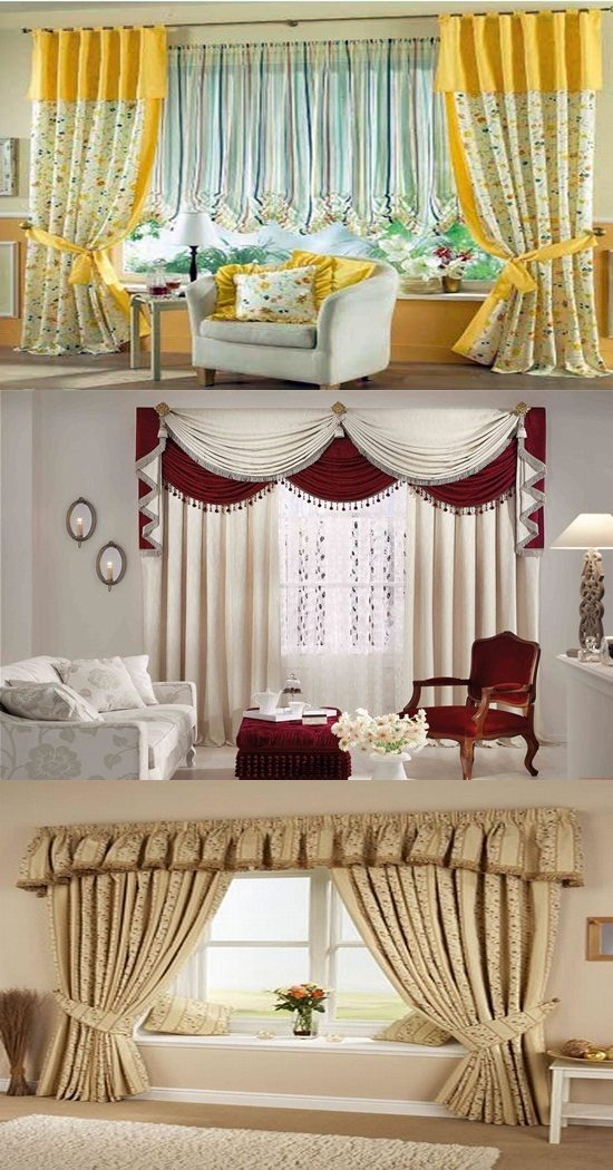 Interior Design Decorating Ideas: Curtain Design Ideas