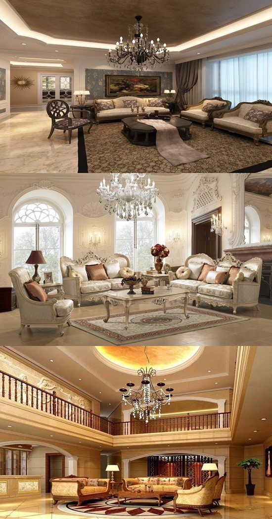 Elegant living room decorating ideas interior design for Image interior design living room