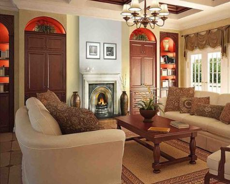 French country decor living room home decorating excellence Country style living room ideas