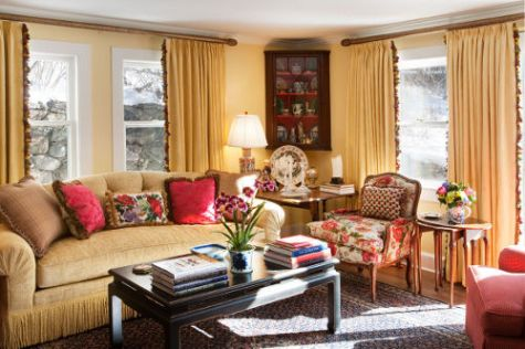 Captivating French Country Living Room Designs Part 14