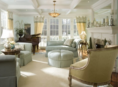 French country living room designs interior design for Country living room design ideas