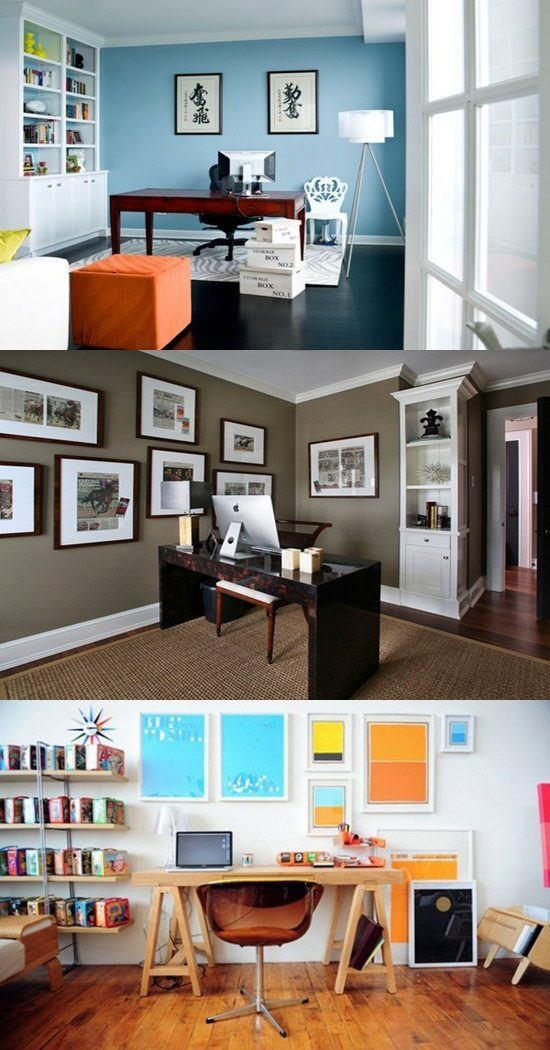 Home Office Colors