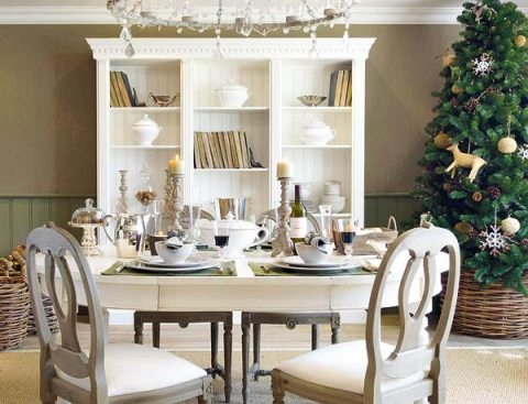 ideas to decorate dining table