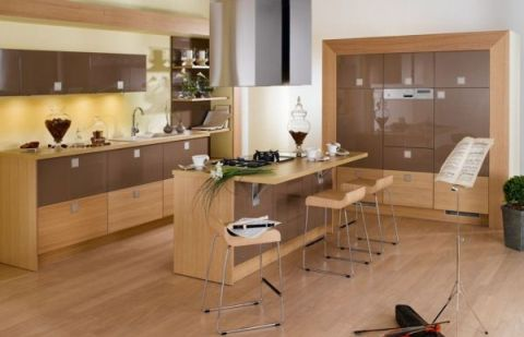 Ideas for Modern Kitchen Designs, colors and lights - Interior design