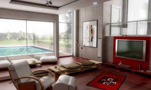 Living Room Interior Design – Family Living