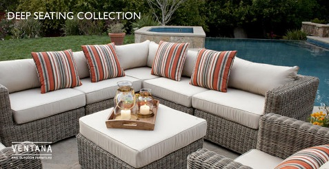 Awesome Luxurious Outdoor Patio Furniture Interior Design Throughout Outdoor Patio Couch