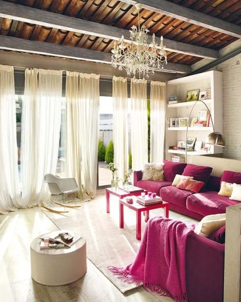 Modern vintage interior design