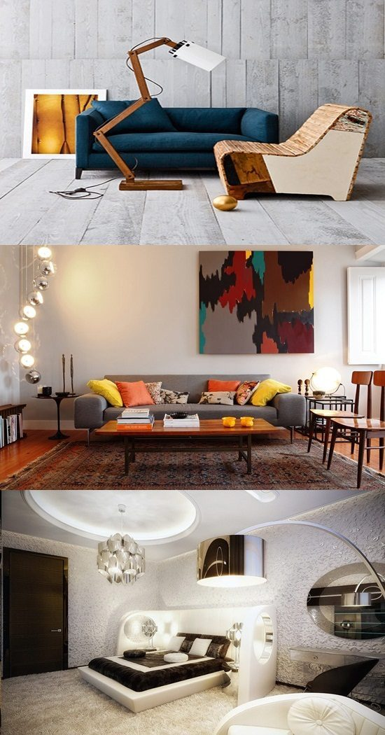 Modern Interior Design Is Based On Iranian Architecture: Modern Vintage Interior Design
