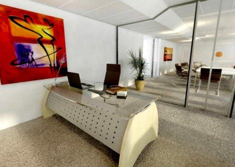 Office interior design - Home Office