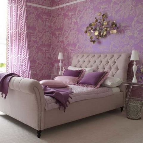 Purple Room Decor Ideas - Interior design