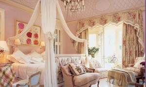 Romantic bedroom curtains - Romantic touch