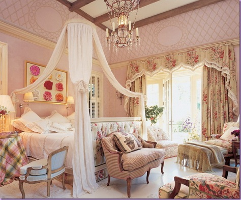 Romantic bedroom curtains romantic touch interior design Romantic bedroom interior ideas