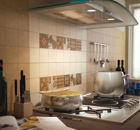 Terrific kitchen wall decor interior design Tiling a kitchen wall design ideas