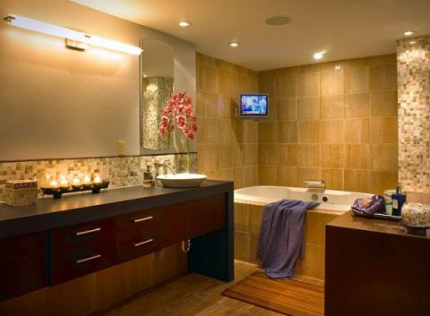 The best bathroom lighting ideas interior design for The best bathroom design