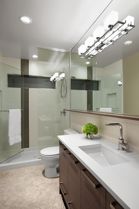 The best bathroom lighting ideas interior design for Bathroom lighting design