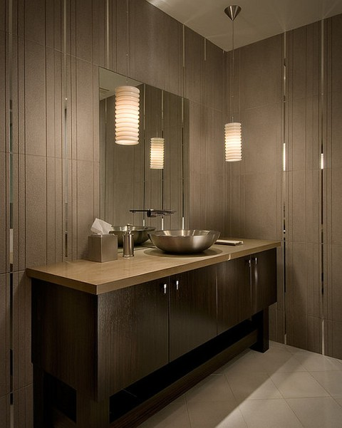 The best bathroom lighting ideas interior design for Best bathroom decor ideas