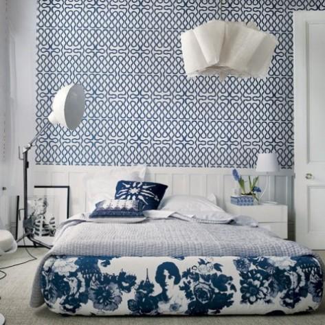 Wallpaper border for teenage girls bedroom 1
