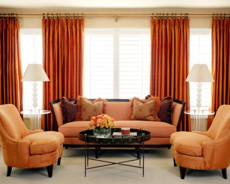 Living room drapes and curtains interior design for Curtains in living room