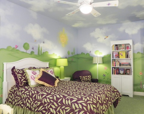 Amazing Childern's Bedroom Designs By Pamela Jaffke