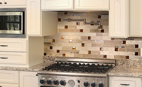 Kitchen Backsplash tiles colors Ideas 19