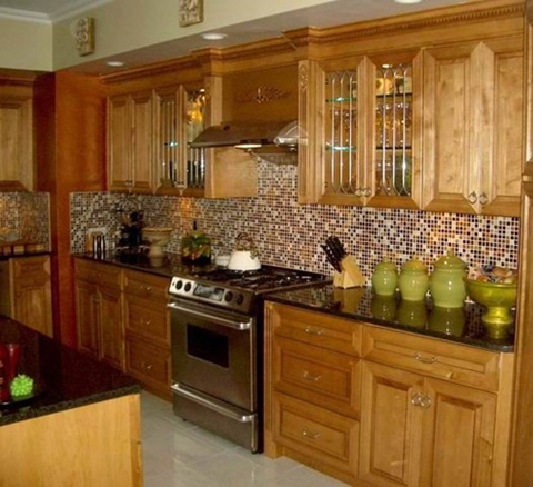 Kitchen Backsplash tiles colors Ideas 4
