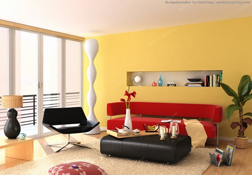 Design Ideas for Small Living Rooms
