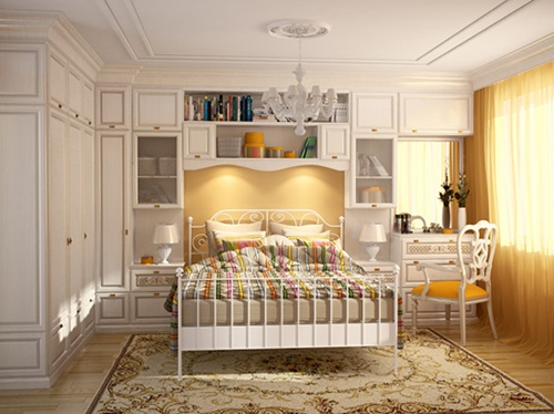 Furniture for Small bedroom – interior design ideas