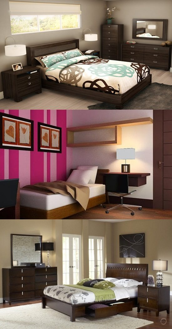 Furniture for Small bedroom – interior design ideas - Interior design