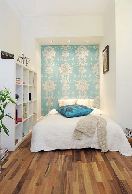 holistic understanding about the organization of such a small bedroom